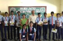 100% attendance Prize Distribution Day