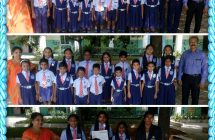 Rank holders, July month class leaders & Eng camp's competition winners