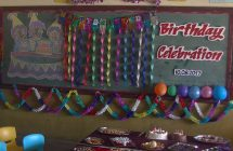 LKG Birthday Celebration and Colouring Competition
