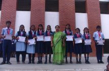 12-2-18 Common Prayer-Certificates for NSTSE exam toppers & Eng camps