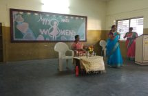 Women's day celebration on 08-03-18