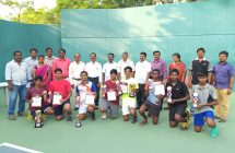 61st Republic day Games Lawn Tennis in Gold Medal