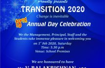 Annual day celebration -01.02.2020